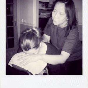 Anne massant Nathalie